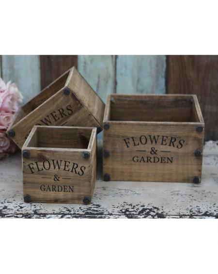Osłonka 3 szt. Flowers&Garden