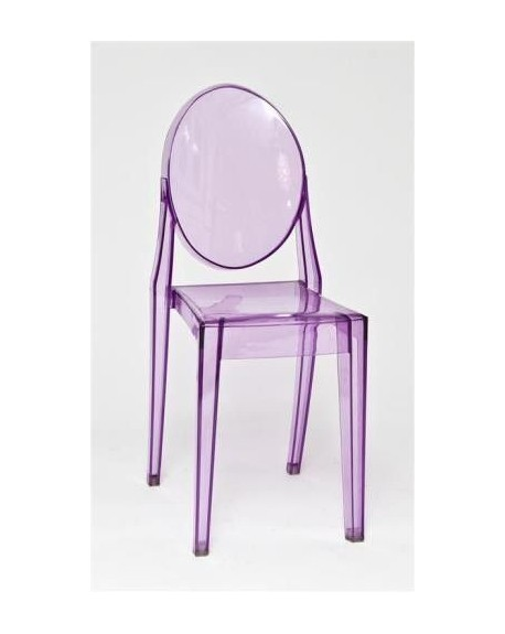 Krzesło Pure fioletowe
