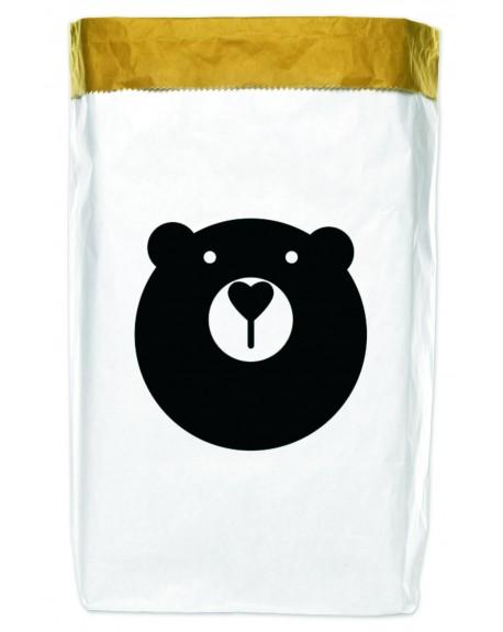 Worek papierowy Bear