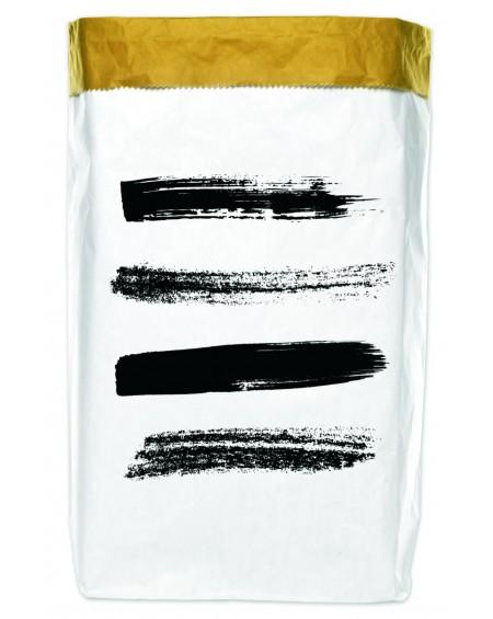 Worek papierowy Brush Strokes 50x70
