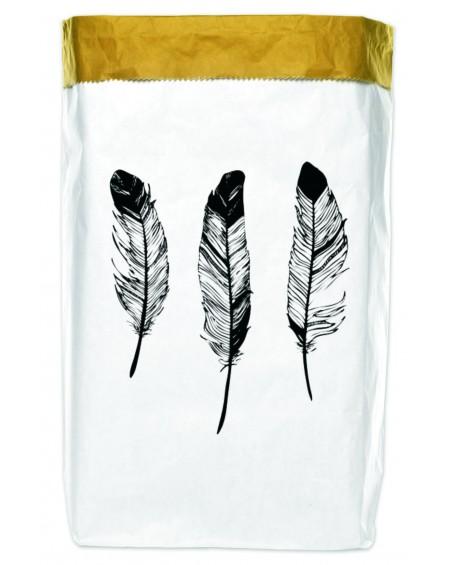 Worek papierowy Feathers 50x70