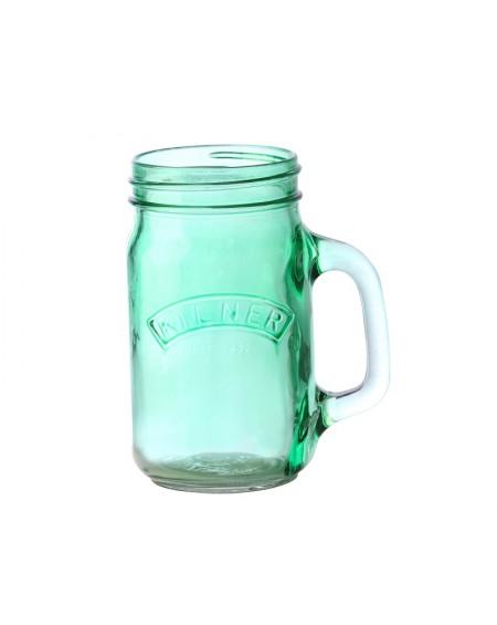 Kubek słoik Kilner zielony