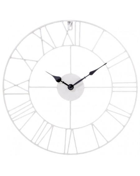 Zegar ścienny Vintage Loft biały