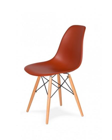 Krzesło Comet ceglaste