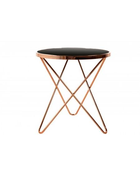 Stolik kawowy Deco miedziany 55 cm