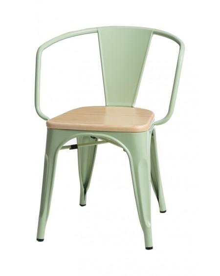 Krzesło Metalove Arms Wood