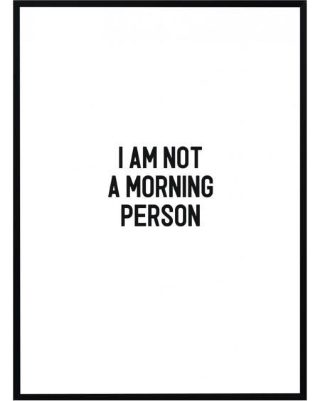 Plakat I am not 50x70