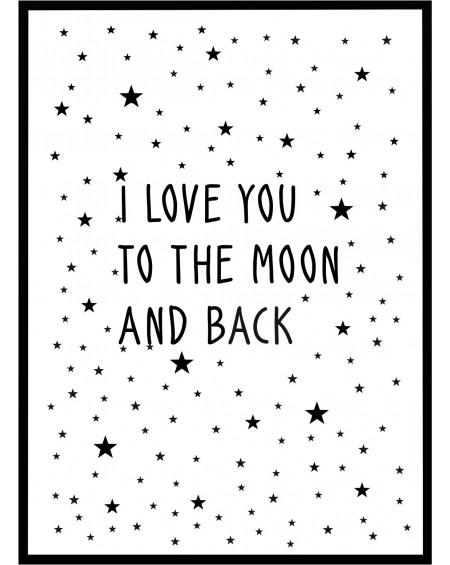 Plakat w ramie Moon 50x70