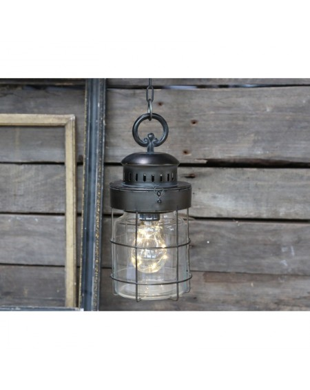 Lampa wisząca szklana Factory