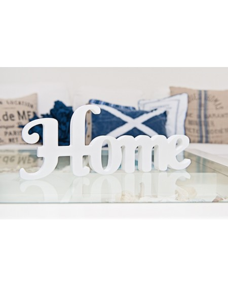 Napis HOME biały