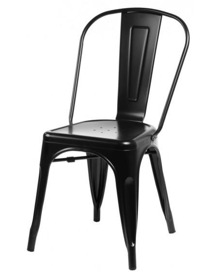 Krzesło Metalove black