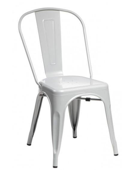 Krzesło Metalove grey