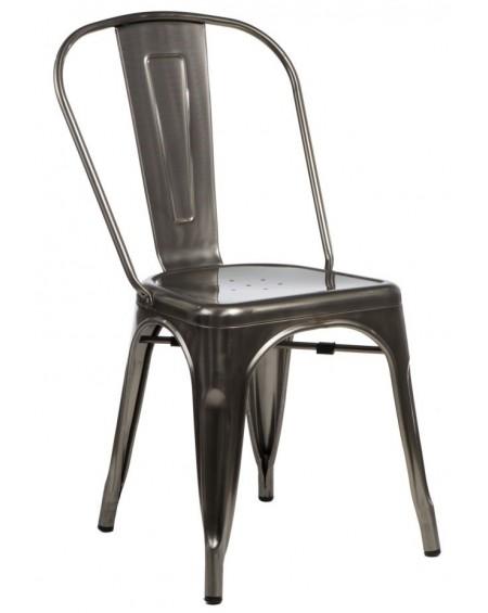 Krzesło Metalove graphite