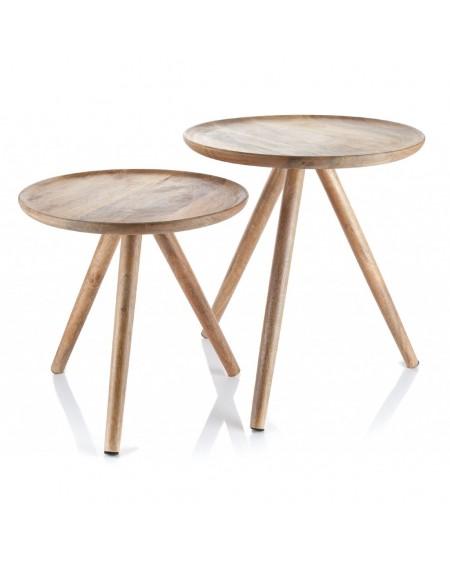 Stolik z drewna mango Aloki