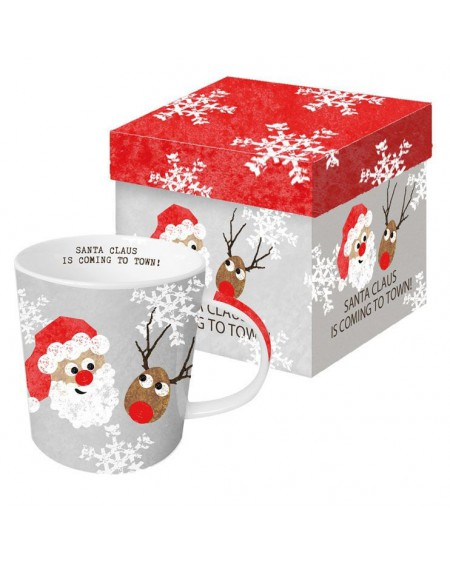 Kubek porcelanowy Santa