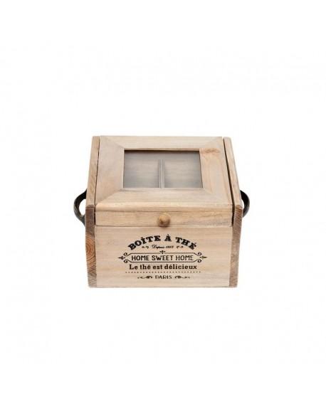 Pudełko na herbatę Paris