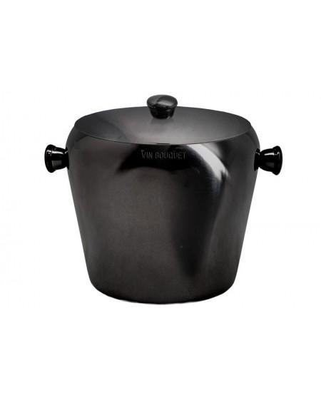 Pojemnik na kostki lodu czarny metalik