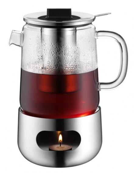 Dzbanek do herbaty z podgrzewaczem 1,3 L