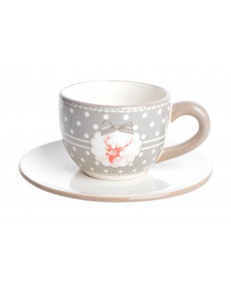 Filiżanka ceramiczna Red Reindeer
