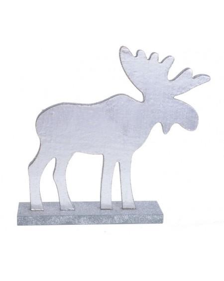 Figurka Łoś srebrny