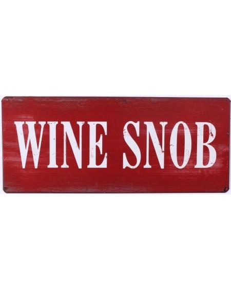 Szyld metalowy Wine Snob