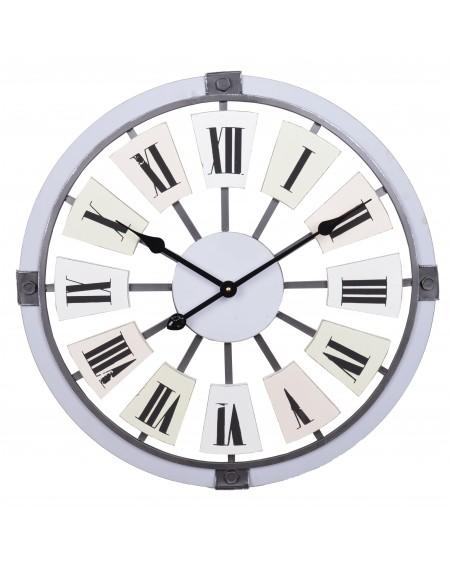 Zegar ścienny duży pastelowy