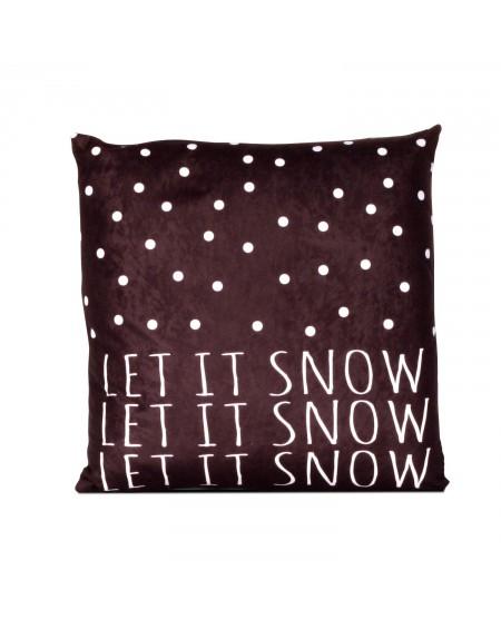 Poduszka Let it snow