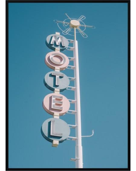 Plakat w ramie Motel 50x70