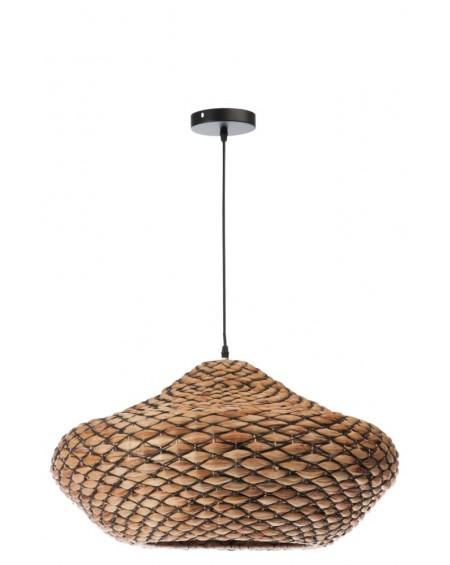 Lampa wisząca owalna Rattan