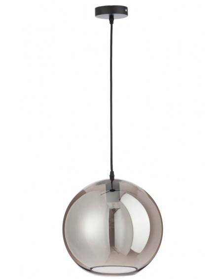 Lampa szklana Ball silver