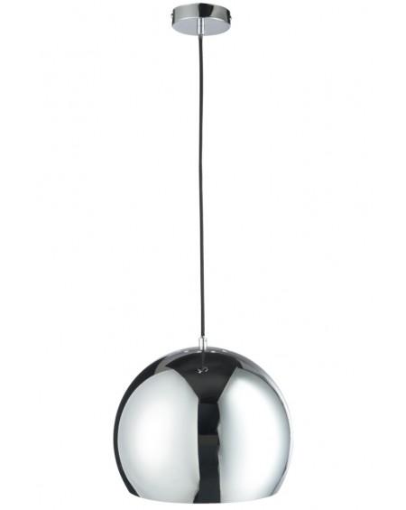 Lampa wisząca szklana Ball Silver