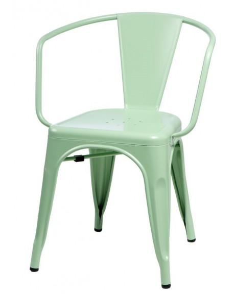 Krzesło Metalove Arms mint