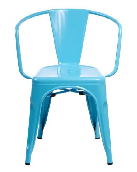 Krzesło Metalove Arms blue