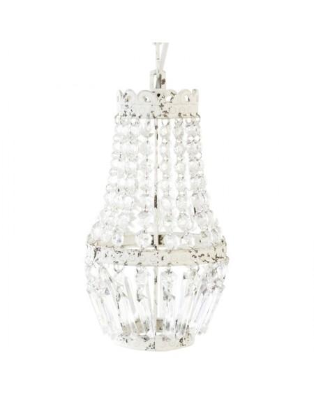 Lampa wisząca z kryształkami Vintage Chic