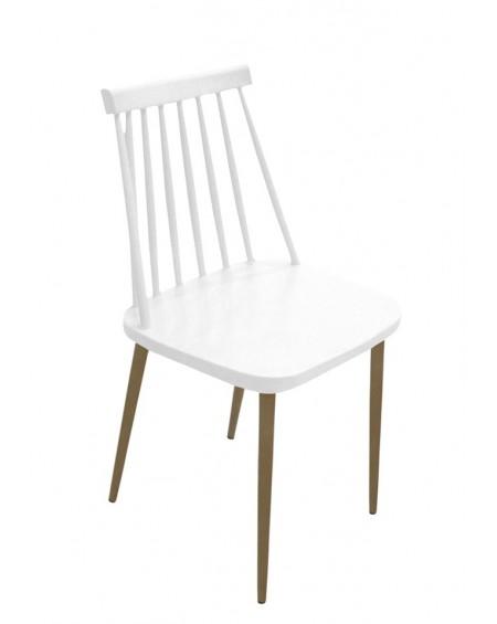 Krzesło RIBS białe