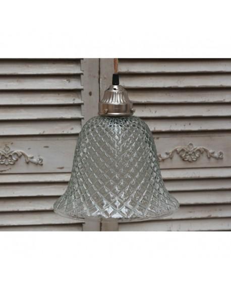 Lampa szklana Romby