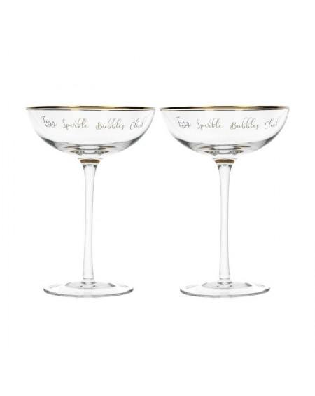 Kieliszek do szampana 2 szt. Sparkle