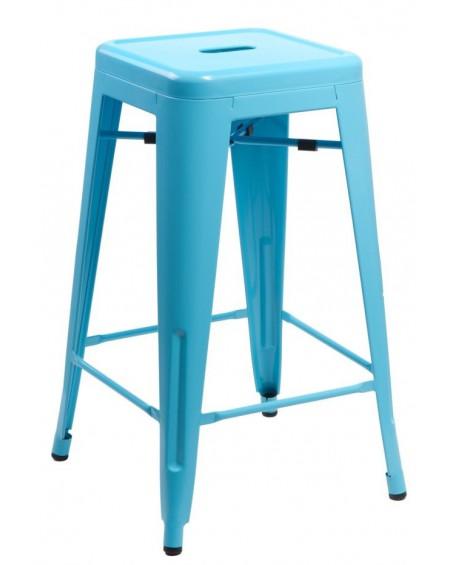 Stołek barowy Metalove blue