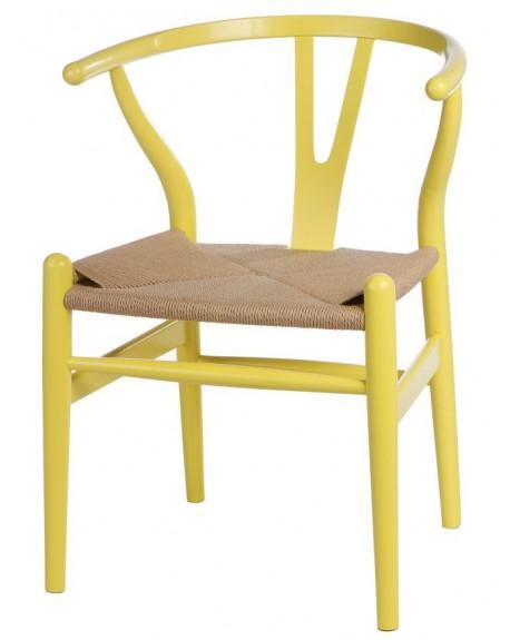 Krzesło Wood yellow