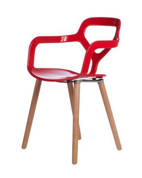 Krzesło Vox red