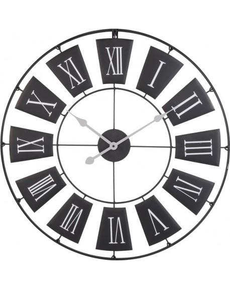 Zegar wiszący czarny