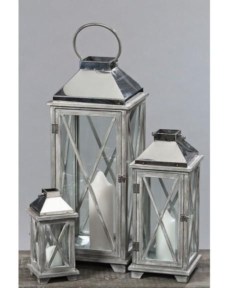 Lampion Silver 3 szt.