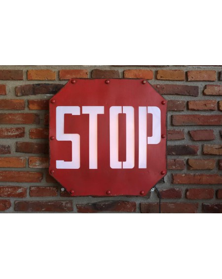Szyld neonowy STOP