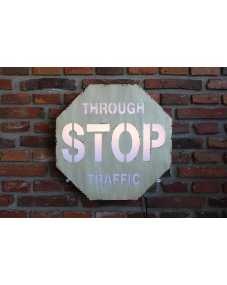 Szyld STOP TRAFFIC