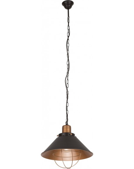 Lampa Industrial gold S