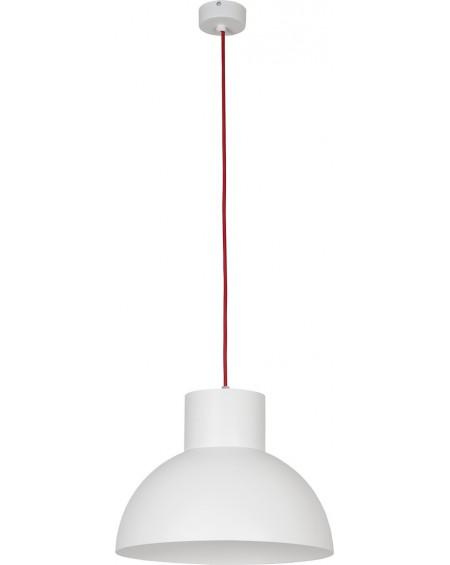 Lampa wisząca Loft white-red