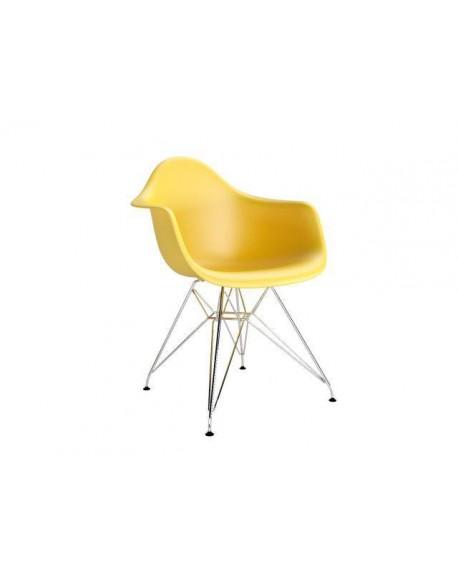 Krzesło Creatio Metal yellow