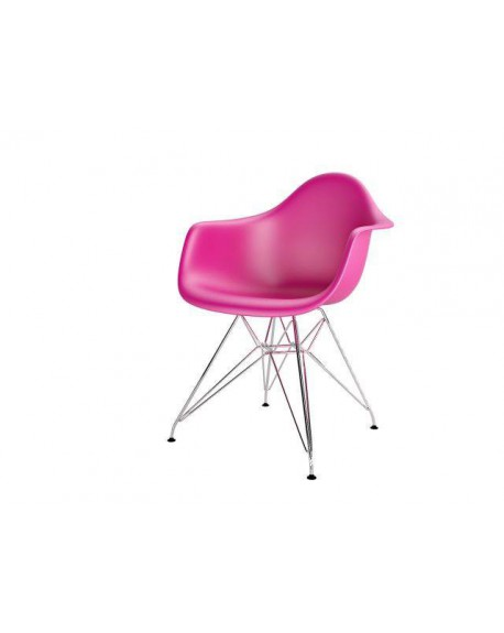 Krzesło Creatio Metal dark pink
