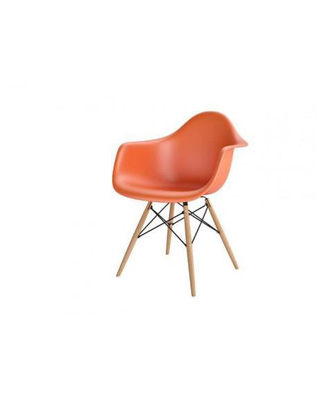Krzesło Creatio pomarańczowe