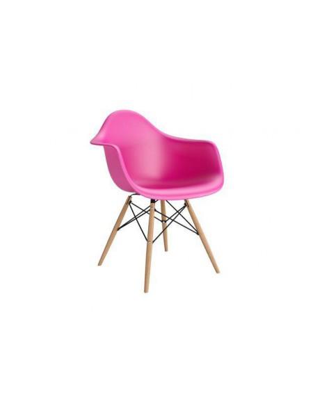 Krzesło Creatio ciemnoróżowe